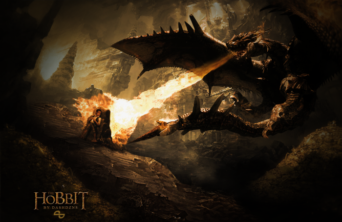 The Hobbit WallpaperPoster Misc Box Art Cover by takamura97 700x455