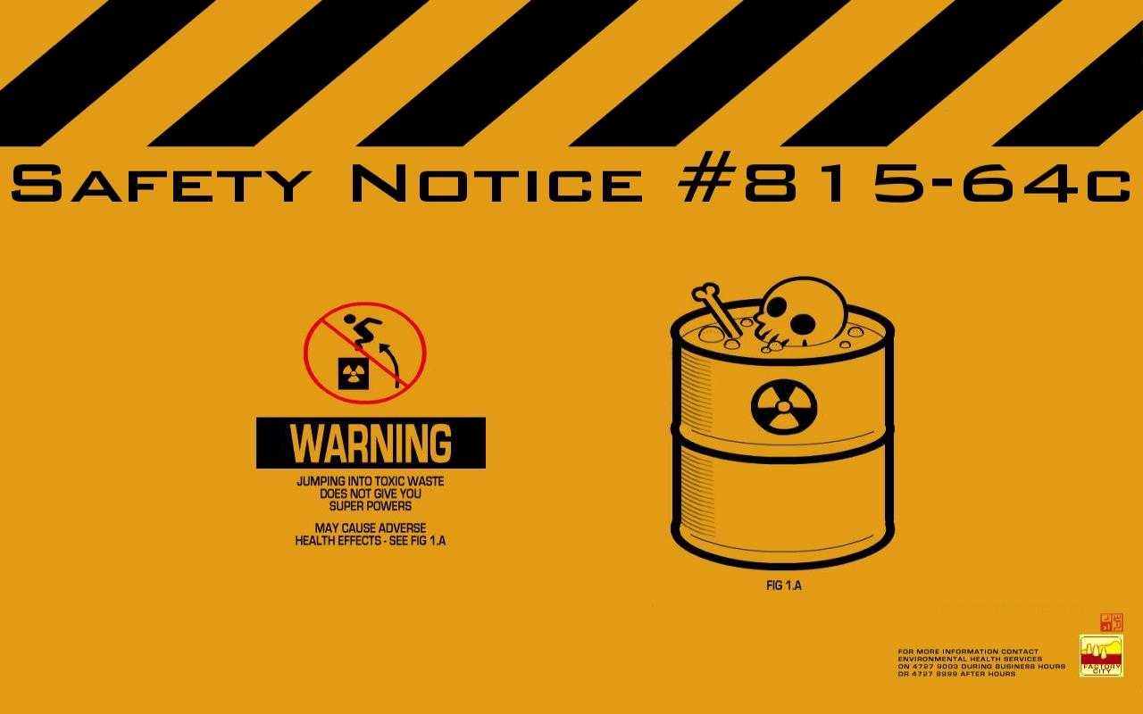 Warning Wallpaper Hd Wallpapersafari