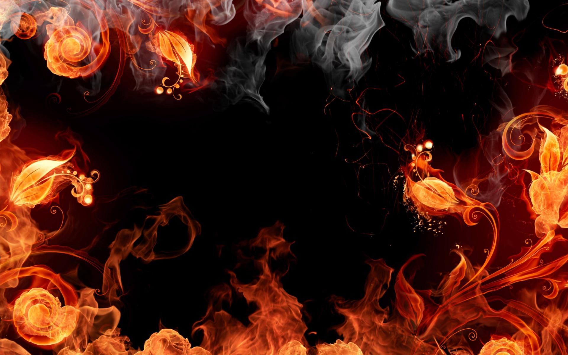 Digital Fire [1920x1200] wallpaper 1920x1200