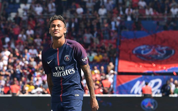 Download wallpapers Neymar Paris Saint Germain PSG 710x444
