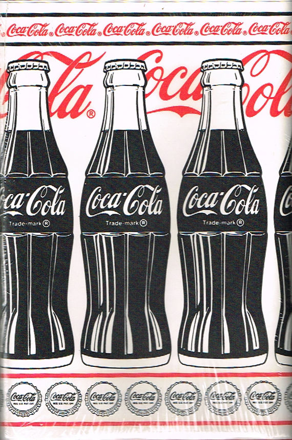 Coke cola wallpaper and trim wallpapersafari - Vintage coke wallpaper ...