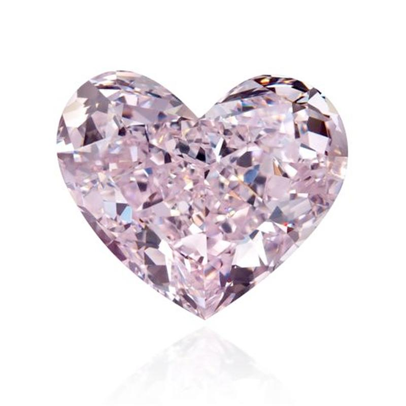 Diamond Pink heart