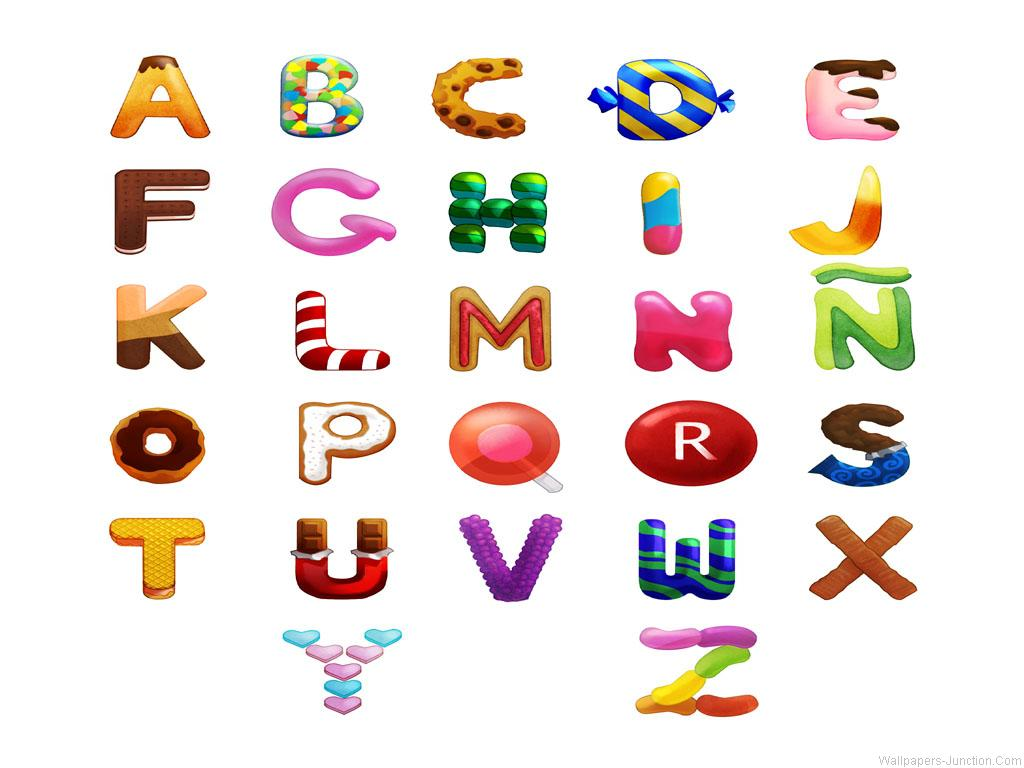 Alphabet Wallpaper Free Download on WallpaperCatalogcom