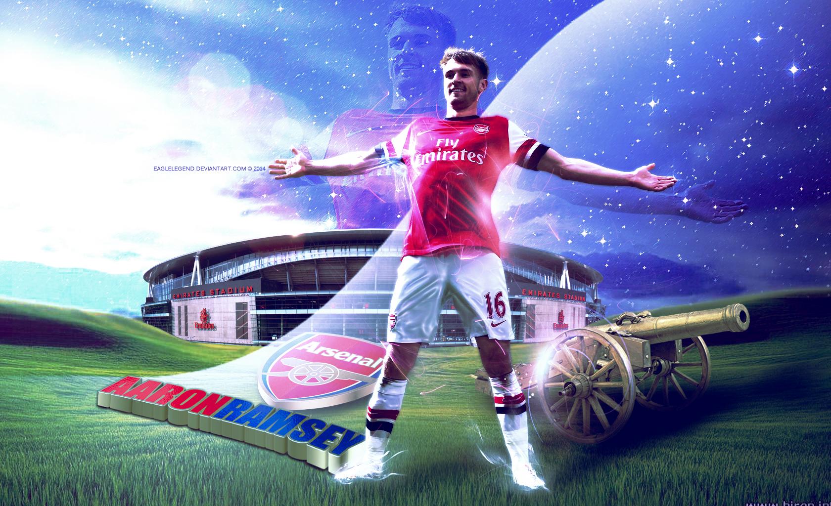 Aaron Ramsey Arsenal Wallpaper 2014 1jpg 1680x1024
