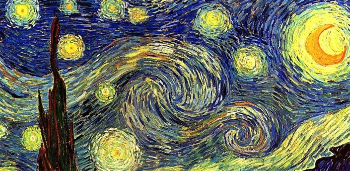 Vincent Van Gogh Doctor Who Wallpaper Van gogh wallpapers set 2 705x344