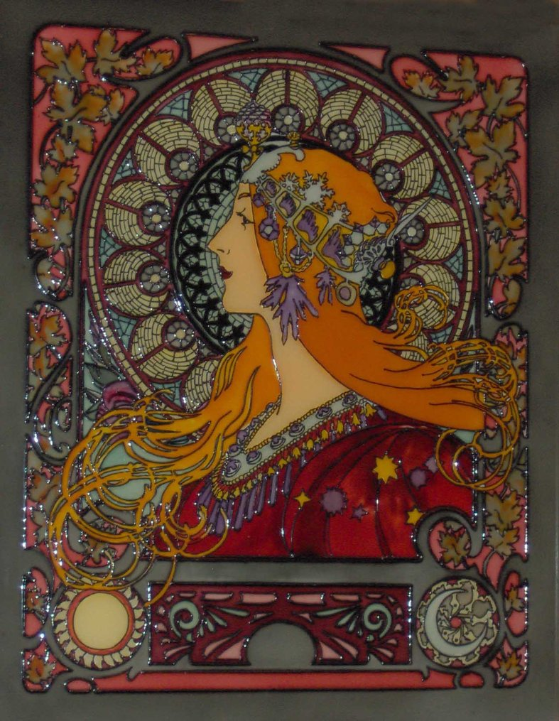 Art Nouveau 03 by mohamed ufo 787x1015