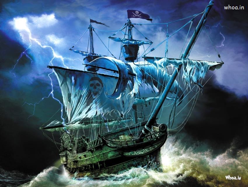 Hd Pirate Ship Wallpaper: Pirate Ship Wallpaper HD