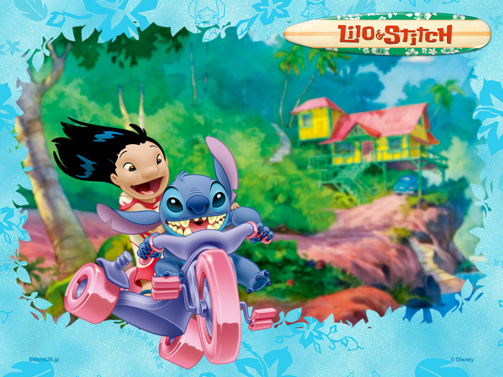 Free Download Hd Desktop Wallpapers Online Amazing Lilo And Stitch