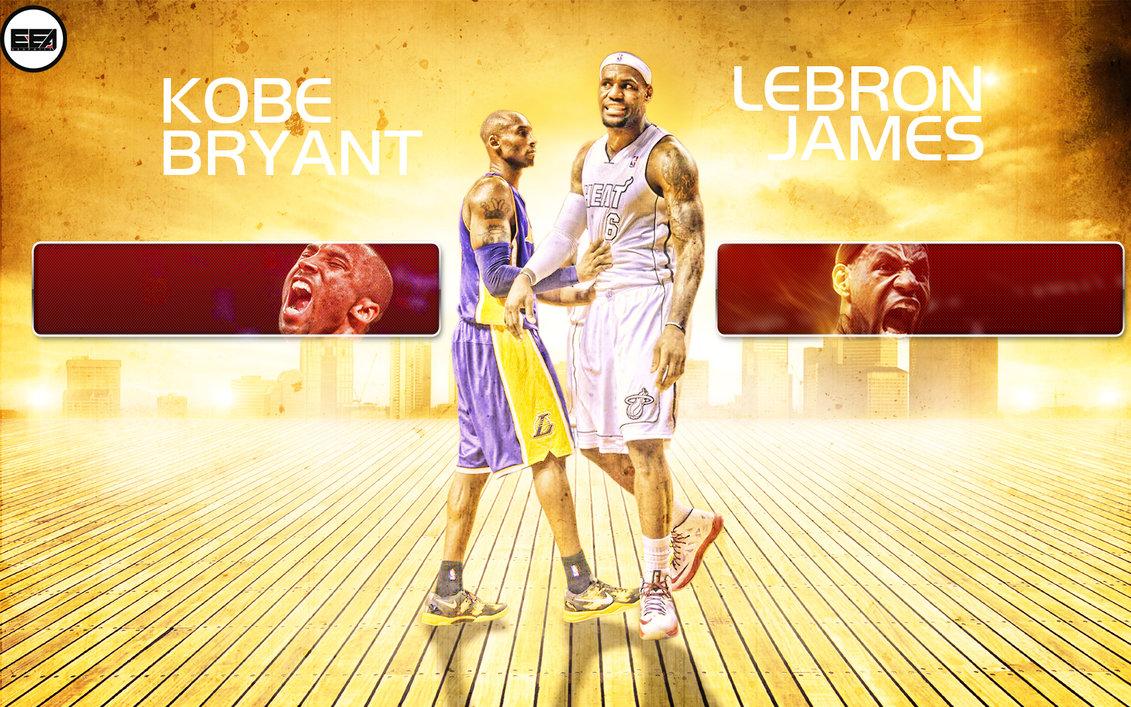 Lebron James And Kobe Bryant Wallpaper Lebron james and kobe bryant 1131x707