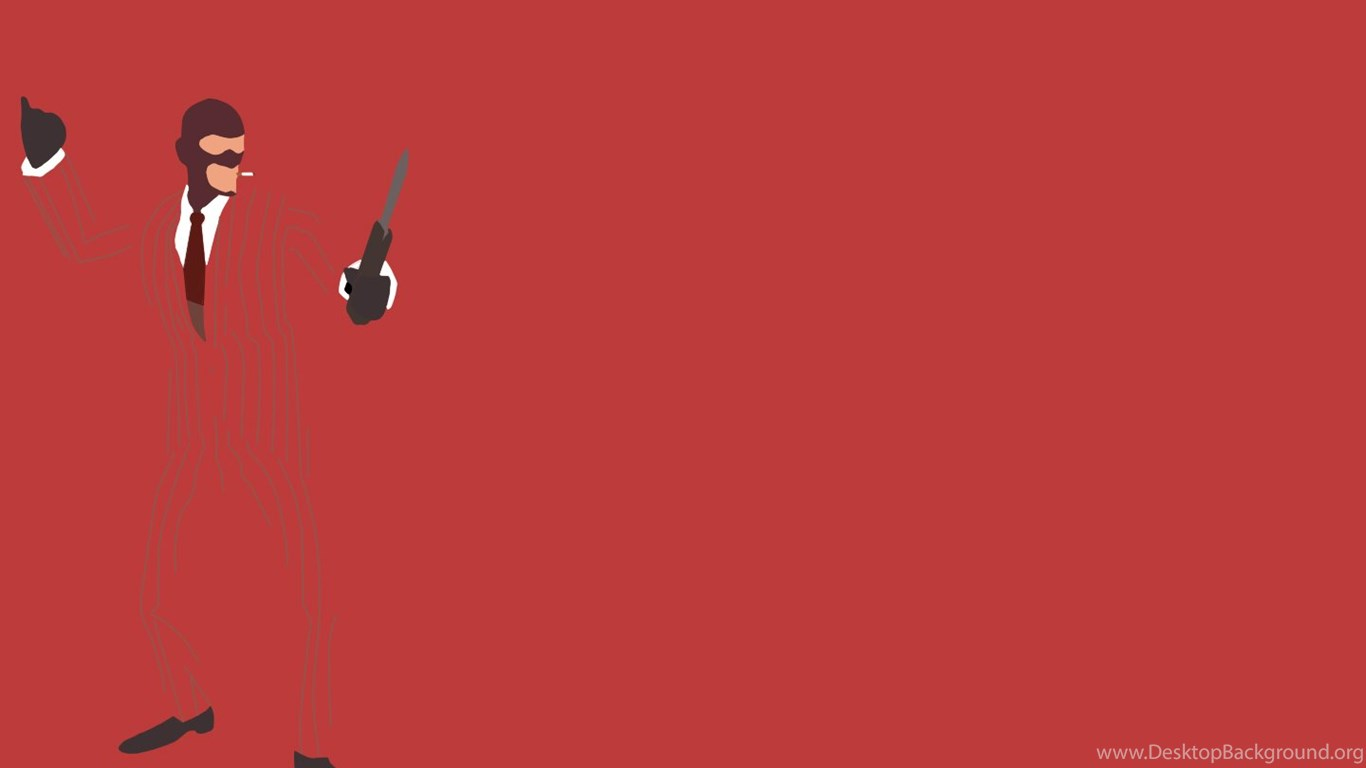 DeviantArt More Like TF2 Red Spy Minimalist Wallpapers By 1366x768