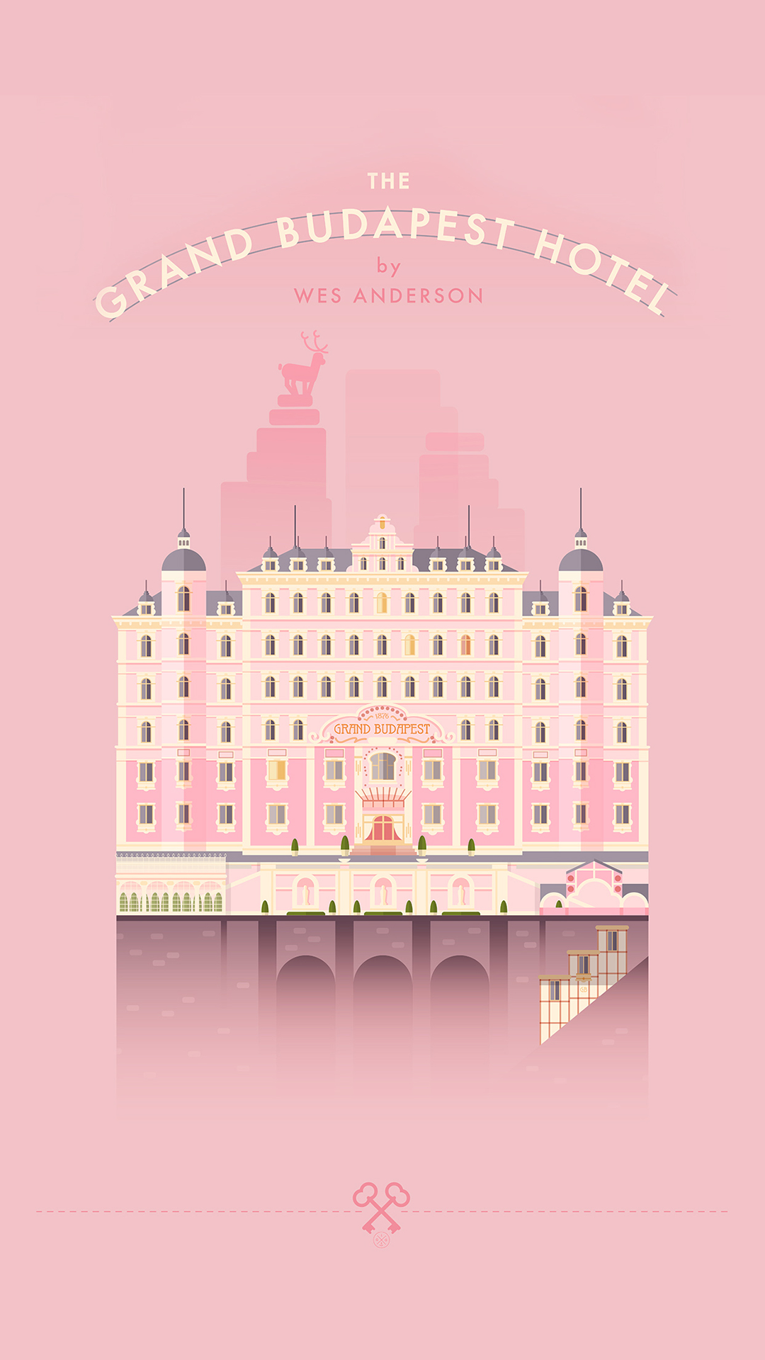Grand Budapest Hotel iPhone 8 Wallpapers Download 1080x1920