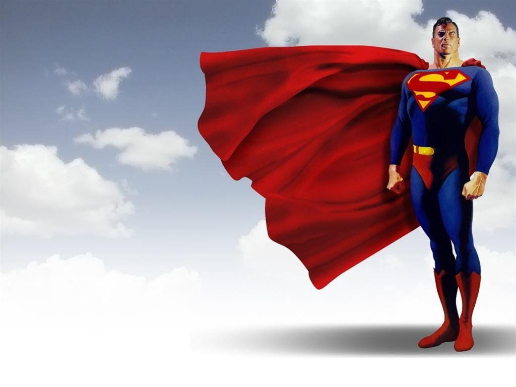 Superman 3D   Fondos de pantalla gratis 1024x768