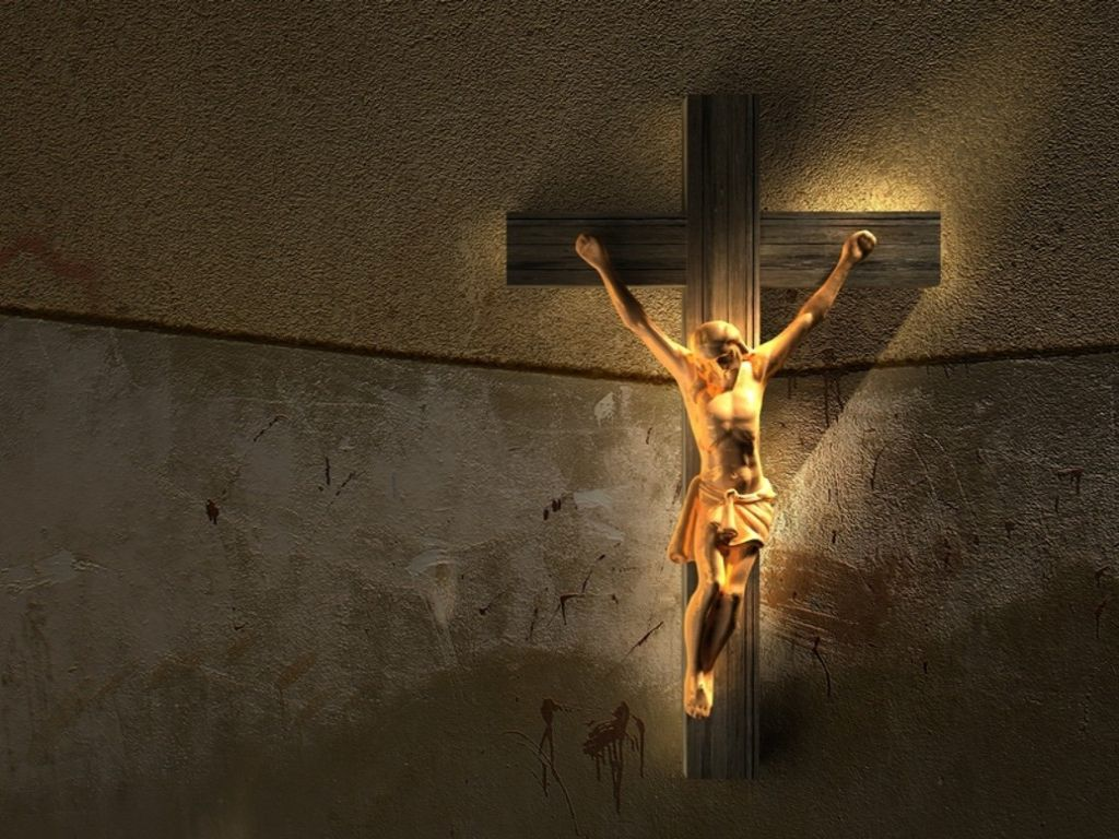 Jesus Christ Crucifixion 1024x768