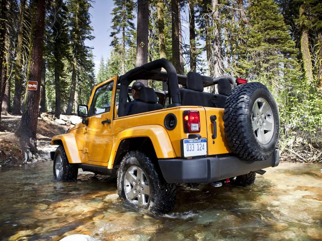 wallpaper Jeep Wrangler Off Road Wallpapers 1024x768