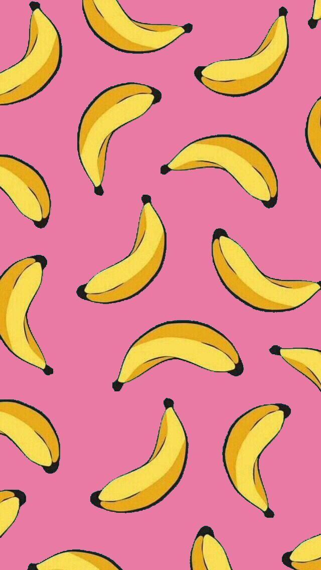 Use for going bananas cards in 2020 Kawaii wallpaper Fruit 640x1136