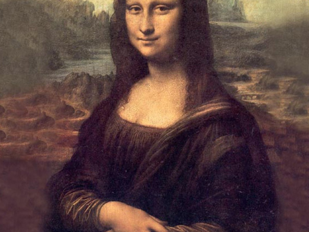 Mona Lisa Wallpaper Pictures to pin 1024x768