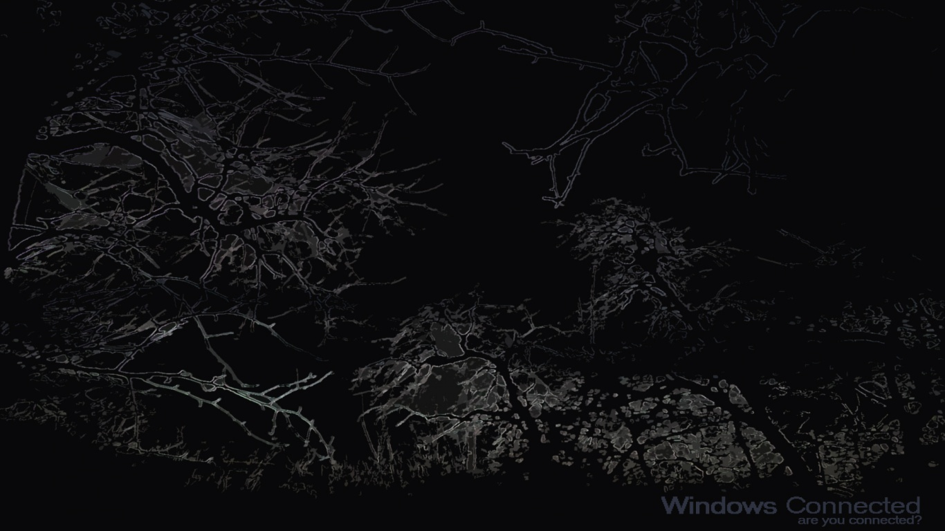Windows Dark Wallpaper 1366x768