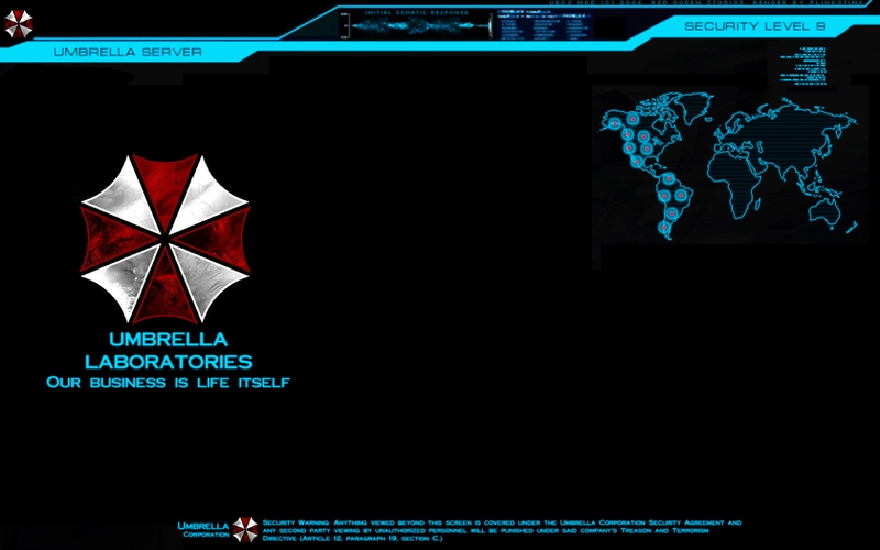 Resident evil umbrella wallpaper wallpapersafari - Umbrella corporation wallpaper hd 1366x768 ...