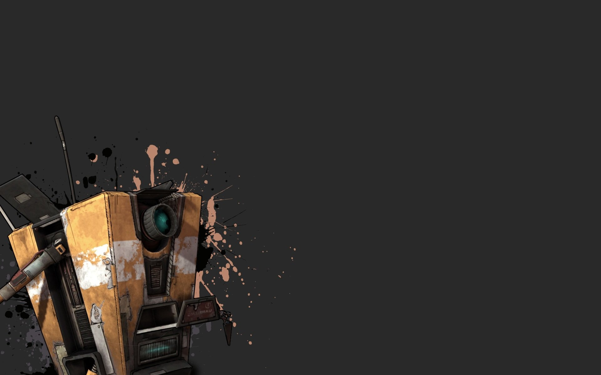 Borderlands Claptrap Wallpaper 1920x1200 Borderlands Claptrap 1920x1200