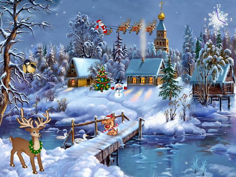 49 Christmas Wallpaper With Sound On Wallpapersafari