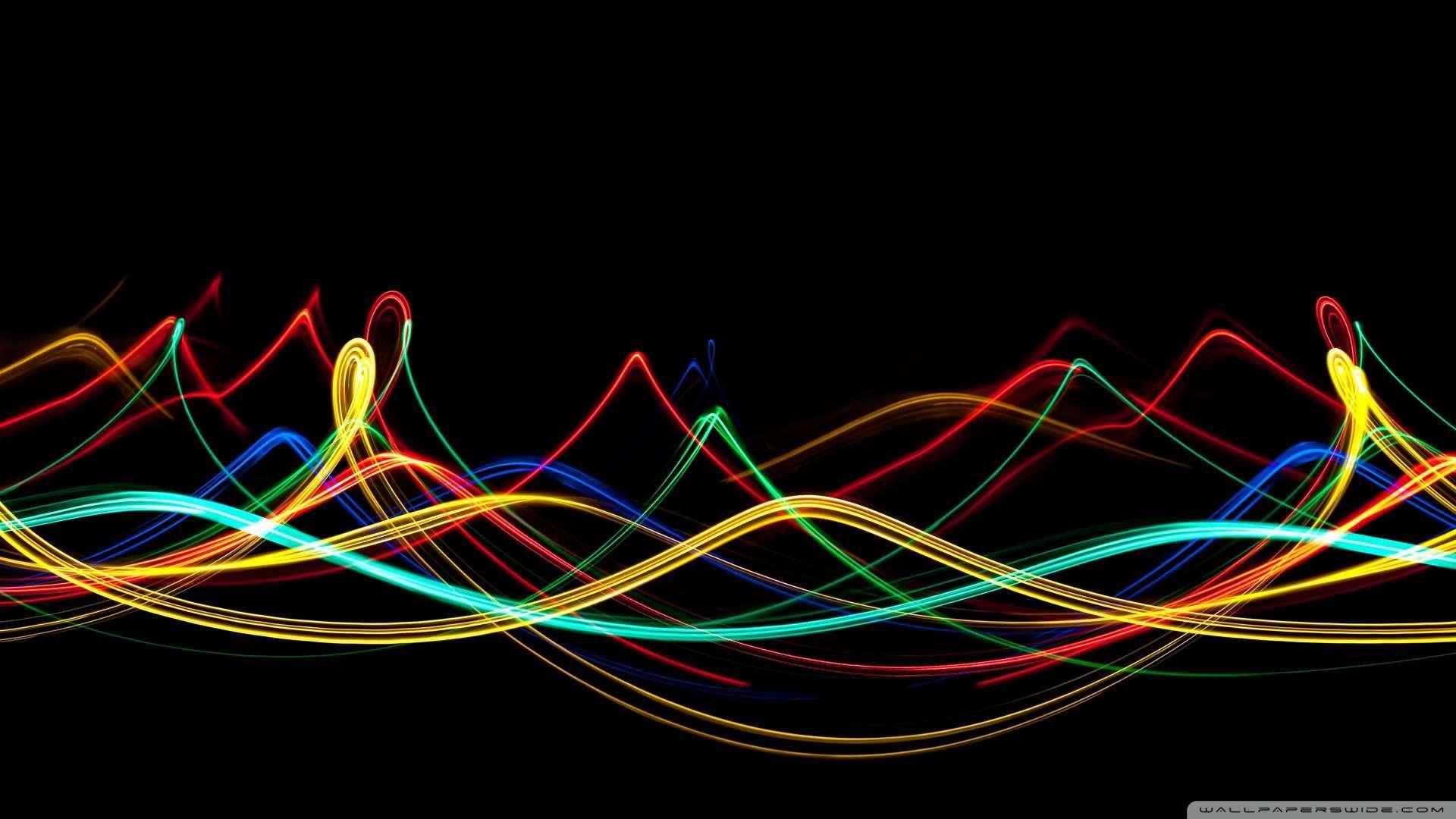Download now Neon Waves Wallpaper 1080p HD Read description infos 1920x1080