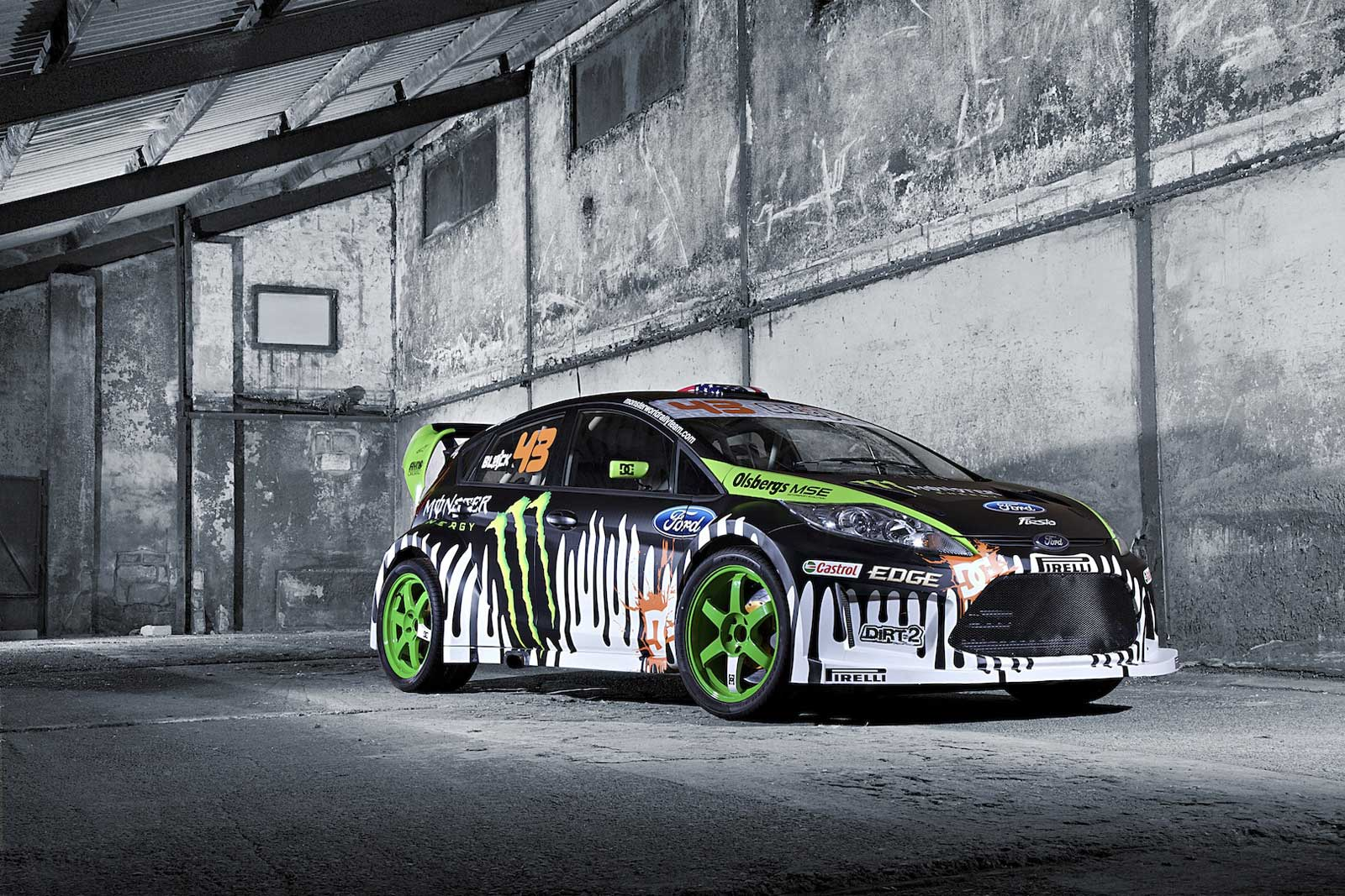MY BLOG THE DOPE FORD FIESTA GYMKHANA KEN BLOCK EDITION AND COVERCAR 1600x1067