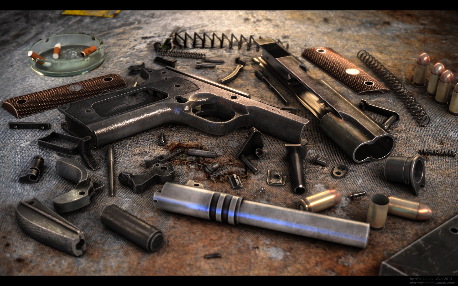 Colt 1911 by ABiator 1920x1200