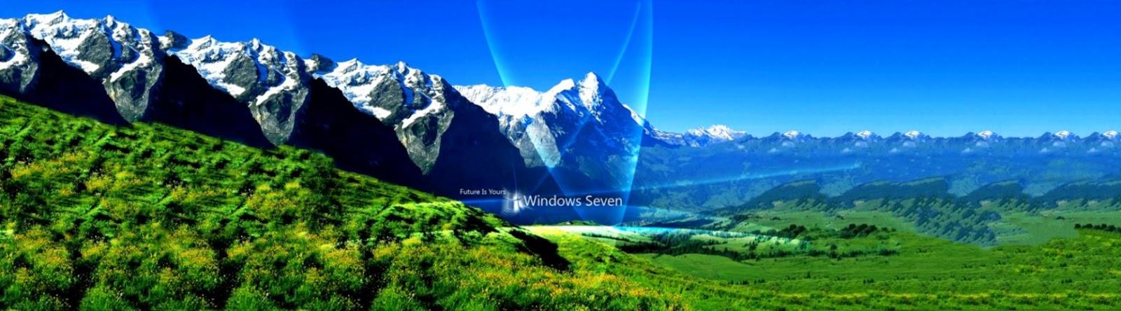 Desktop Background Extended Display