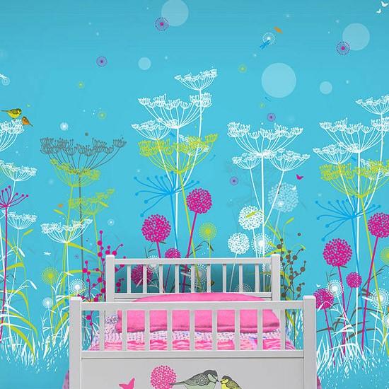 Childrens wallpaper Wallpaper ideas PHOTO GALLERY Housetohome 550x550
