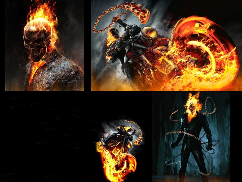 Ghost Rider Screensaver   Animated Wallpaper[h33t][Screensavers 1023x767