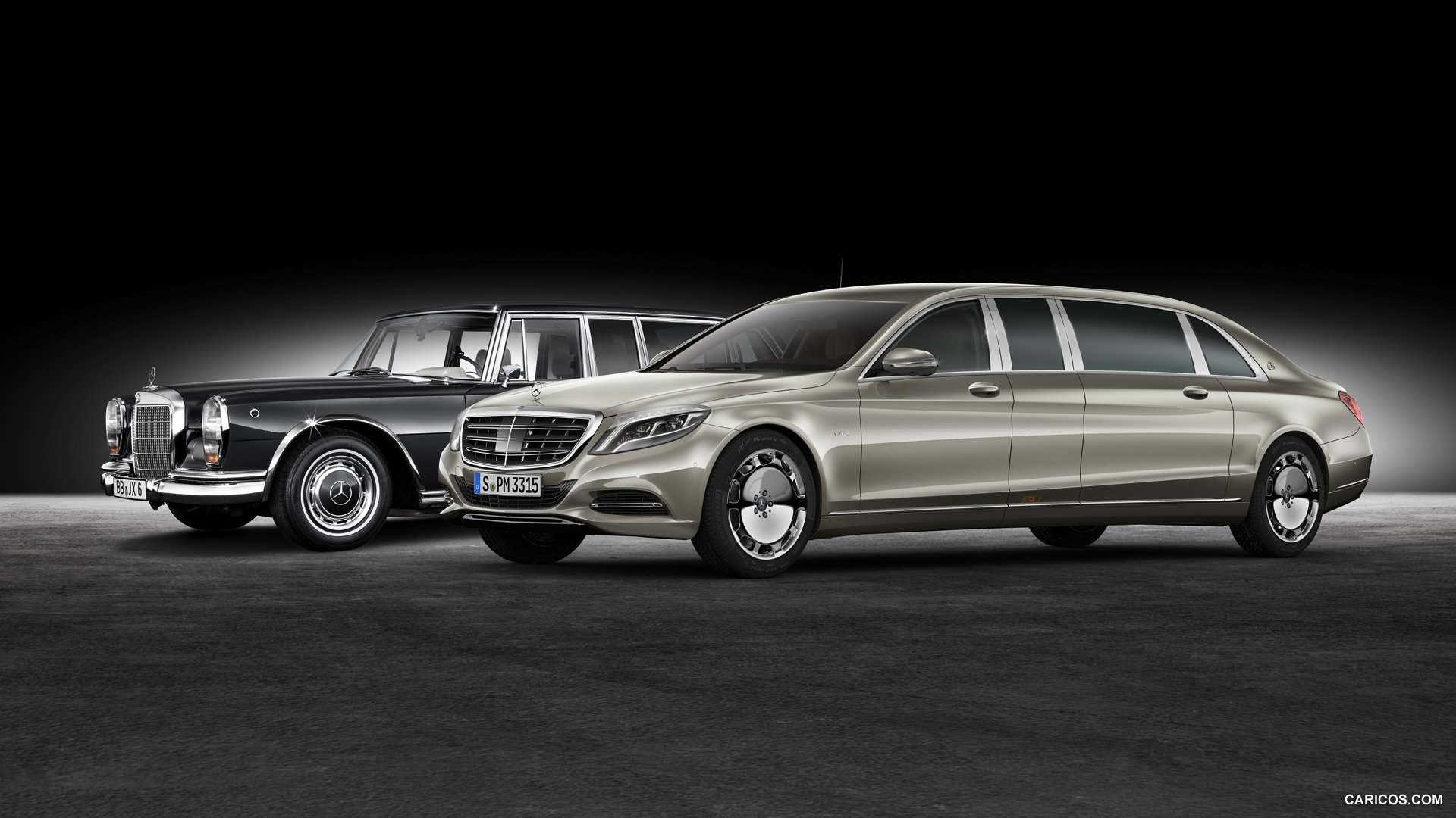 2016 Mercedes Maybach S600 Pullman and Mercedes Benz 600 1920x1080