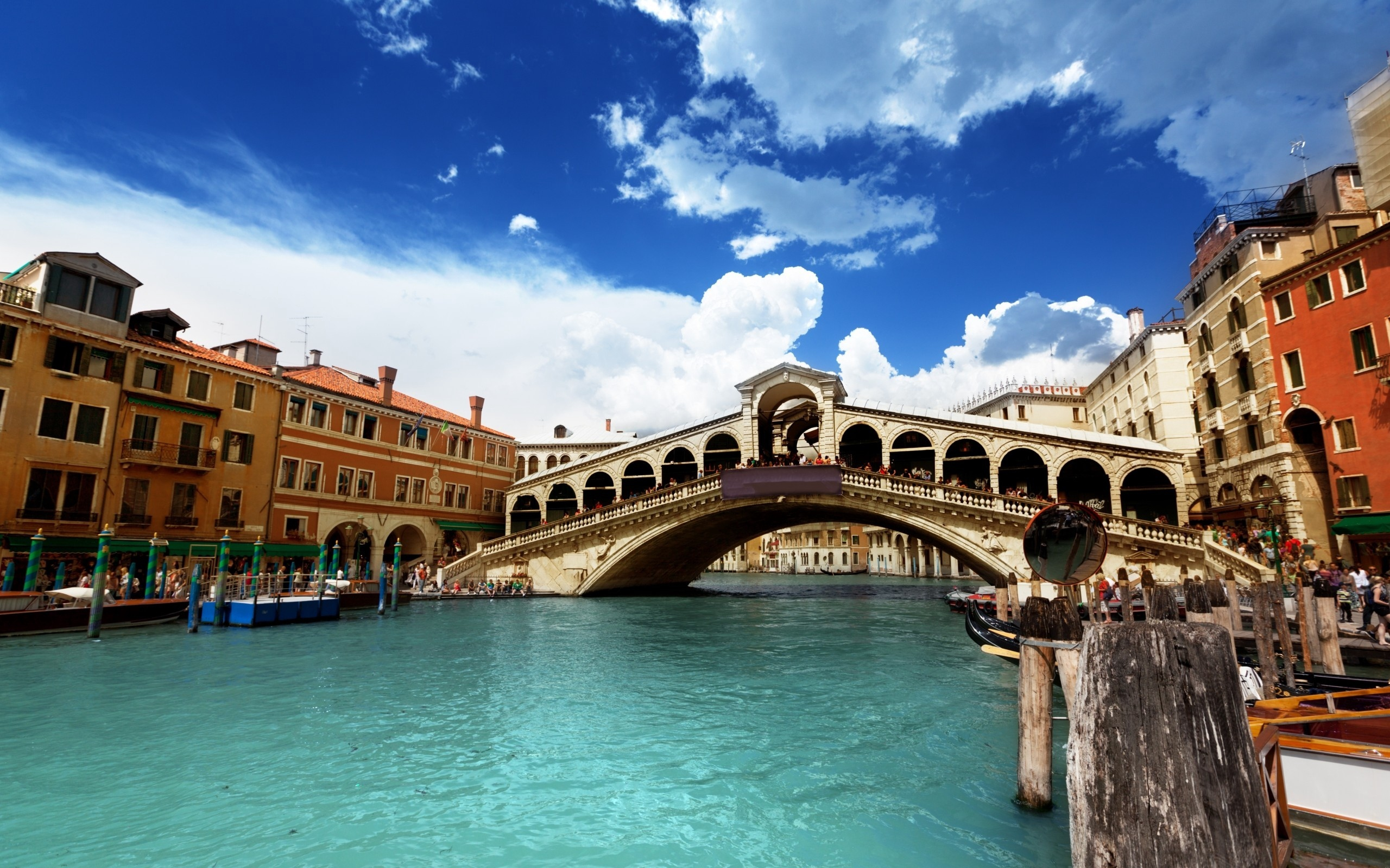 Venice Italy River Building   Stock Photos Images HD 2560x1600