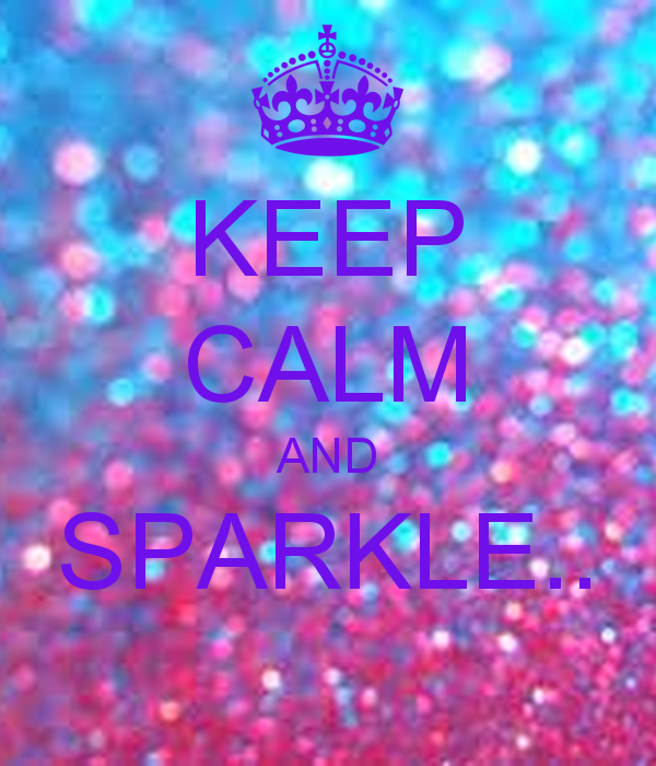 KEEP CALM AND SPARKLE CARRY ON Image Generator 600x700