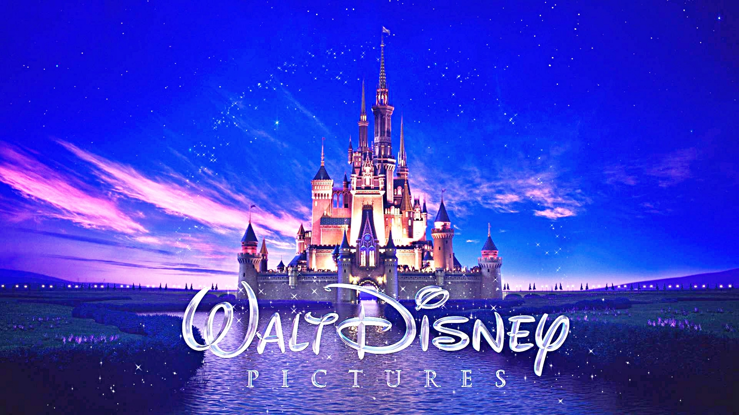 Disney Castle Background   HD Wallpapers 2560x1440