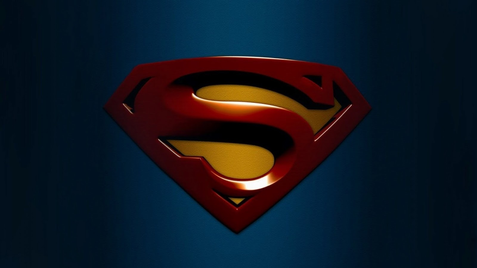 2013 Superman Logo Wallpaper Images amp Pictures   Becuo 1600x900
