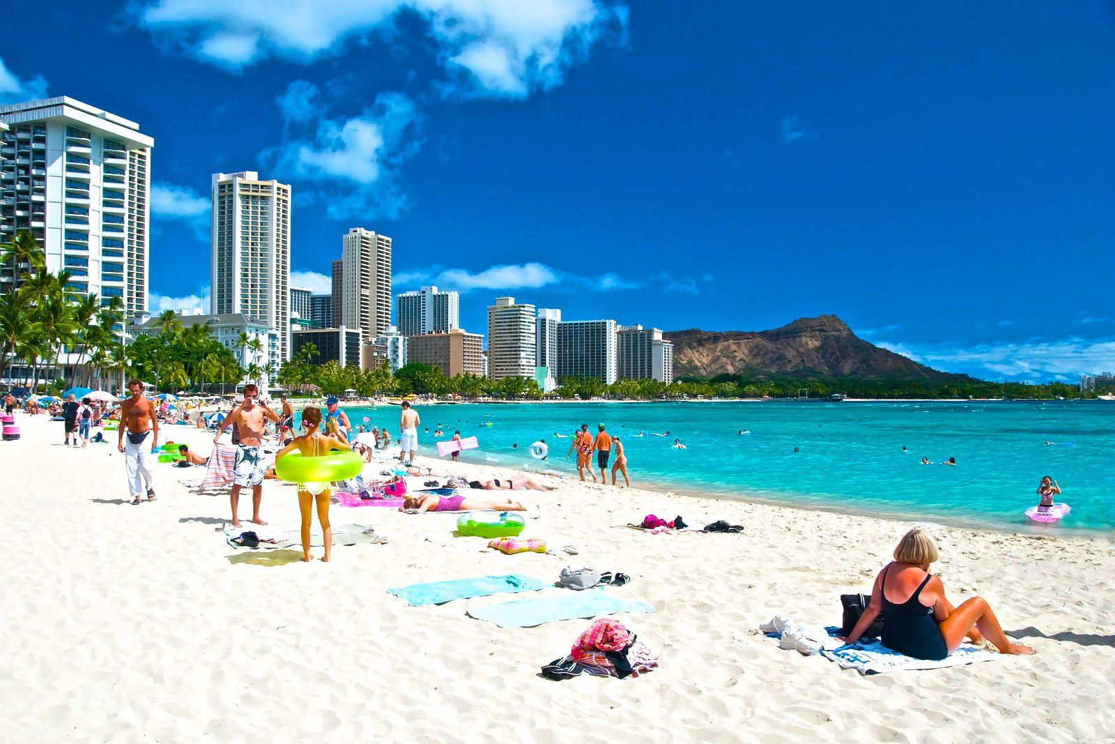 Waikiki Beach Wallpaper Hd: Waikiki Beach Wallpaper