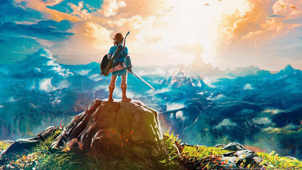 91 Zelda Breath Of The Wild Wallpapers On Wallpapersafari