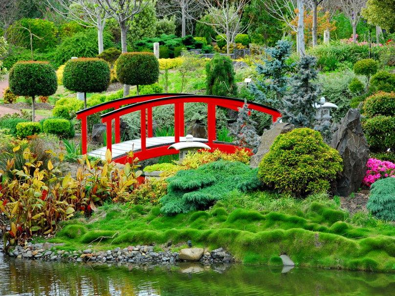 Japanese garden wallpaper   ForWallpapercom 808x606