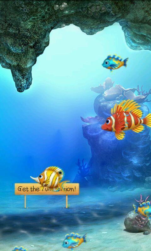 MF Aquarium Live Wallpaper HD Wallpapers Backgrounds Aquarium L 480x800