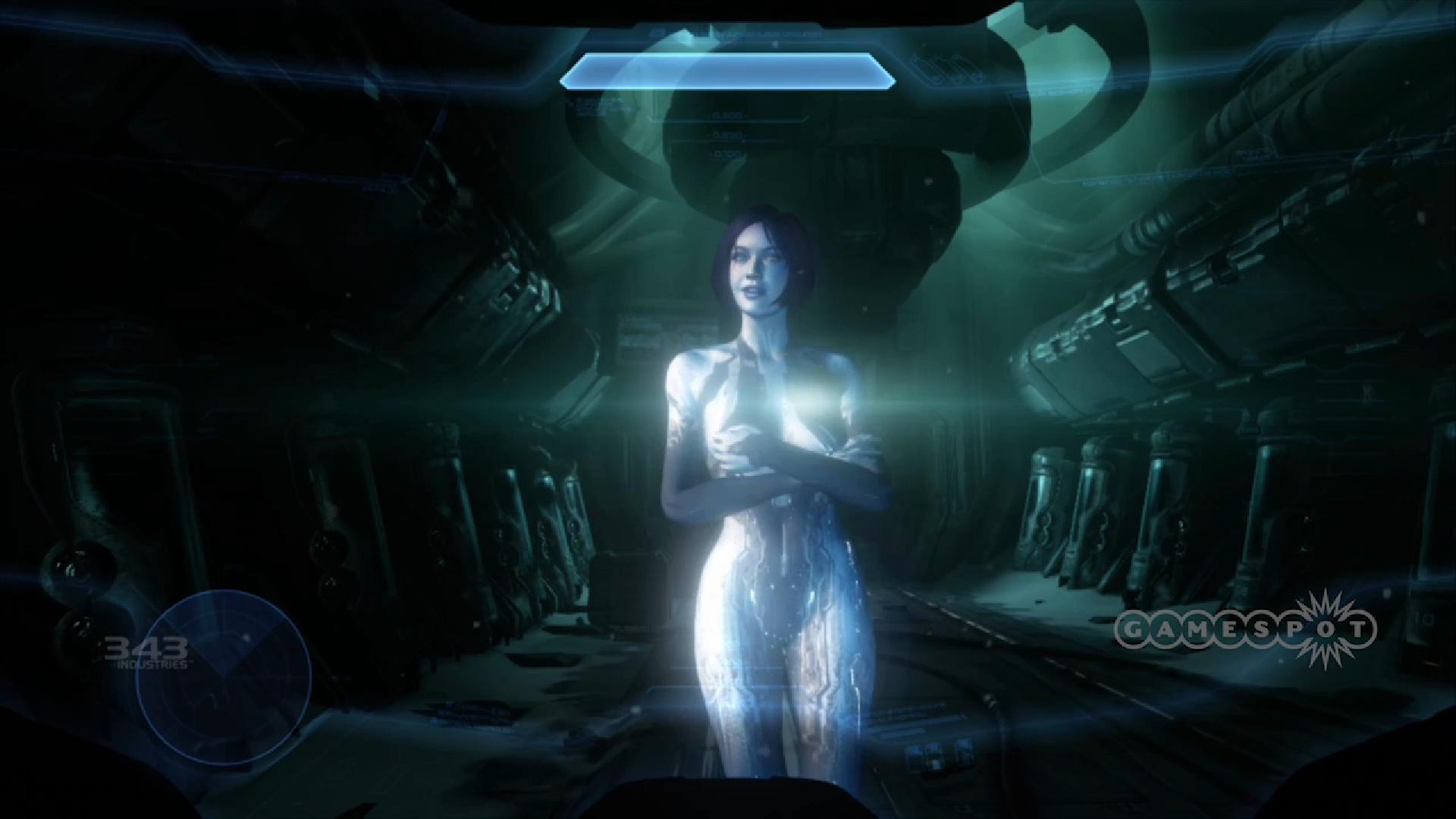 Halo Cortana Body Paint 1920x1080