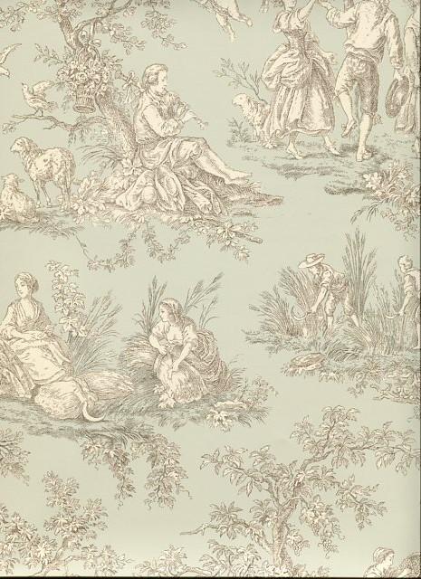 toiles de jouy 2 wallpaper tl61002 by galerie home galerie toiles de 465x640