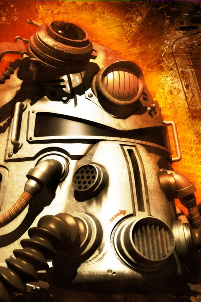 Post Nuclear Rpg Fallout iPhone 4 Wallpaper and iPhone 4S Wallpaper 640x960