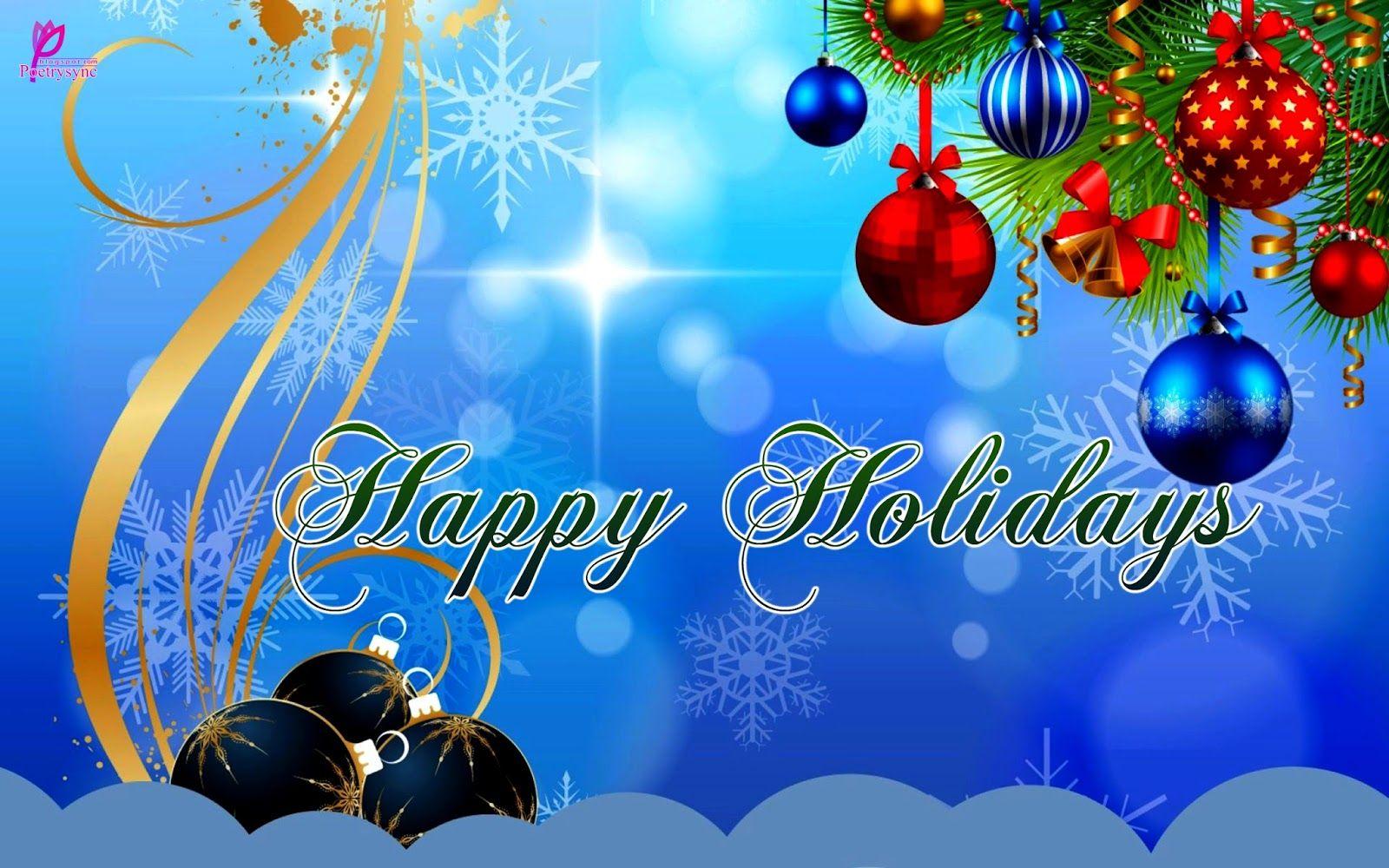 Happy Holidays Wallpapers PC 62898JJ WallpapersExpertcom 1600x1000