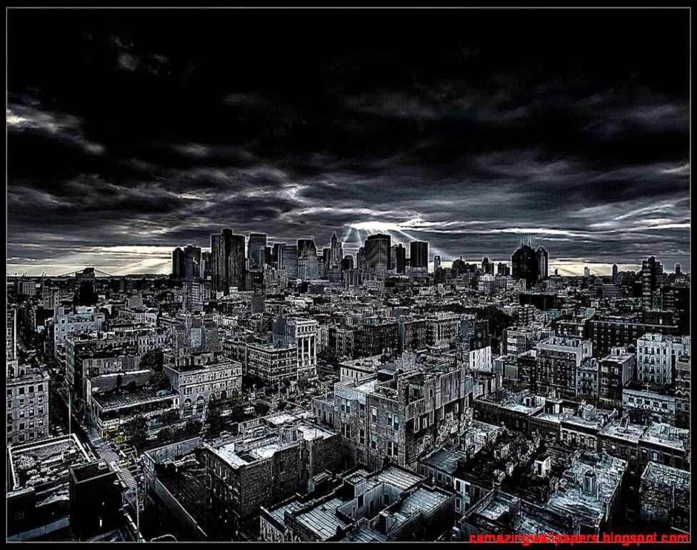 Dark city wallpaper Wallpaper Wide HD 976x770
