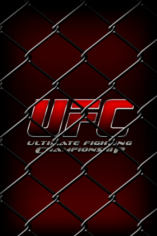 Ufc Cage Wallpapers Ufc hd iphone theme 640x960
