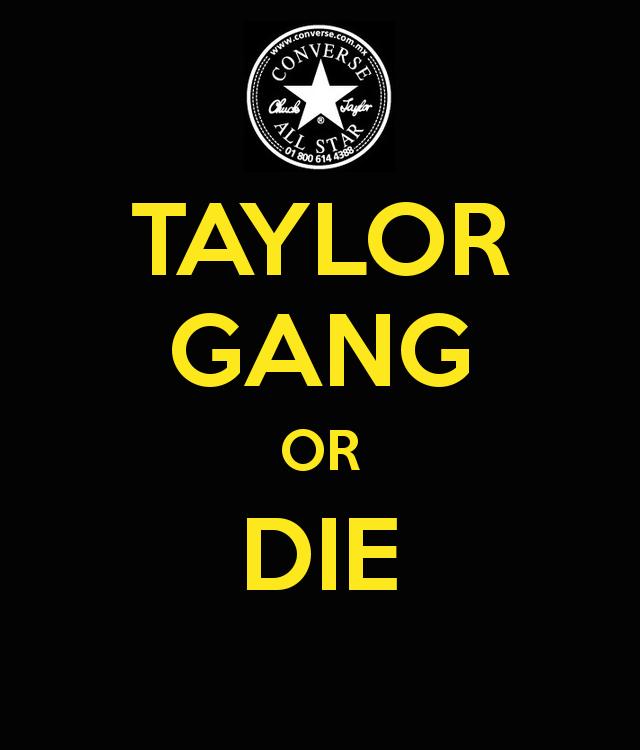 Roadkilltshirts TAYLOR GANG OR