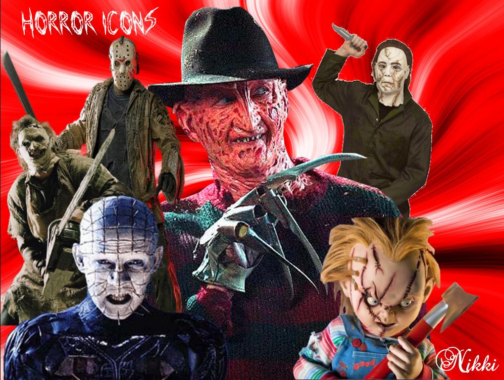 Horror Icons by MsNikki07 on deviantART 1018x767