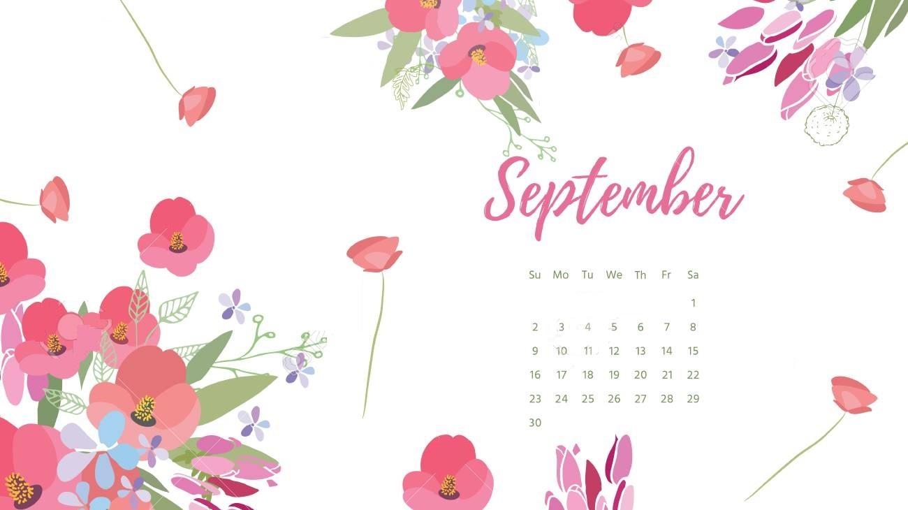 Free Download September 2018 Calendar Wallpapers Calendar 2019 1300x730 For Your Desktop Mobile Tablet Explore 53 Cute Wallpapers 2019 Cute Wallpapers 2019 Wallpapers 2019 Motogp 2019 Wallpapers