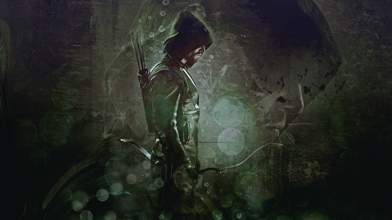 Arrow by AmethystIceAngel 1366x768
