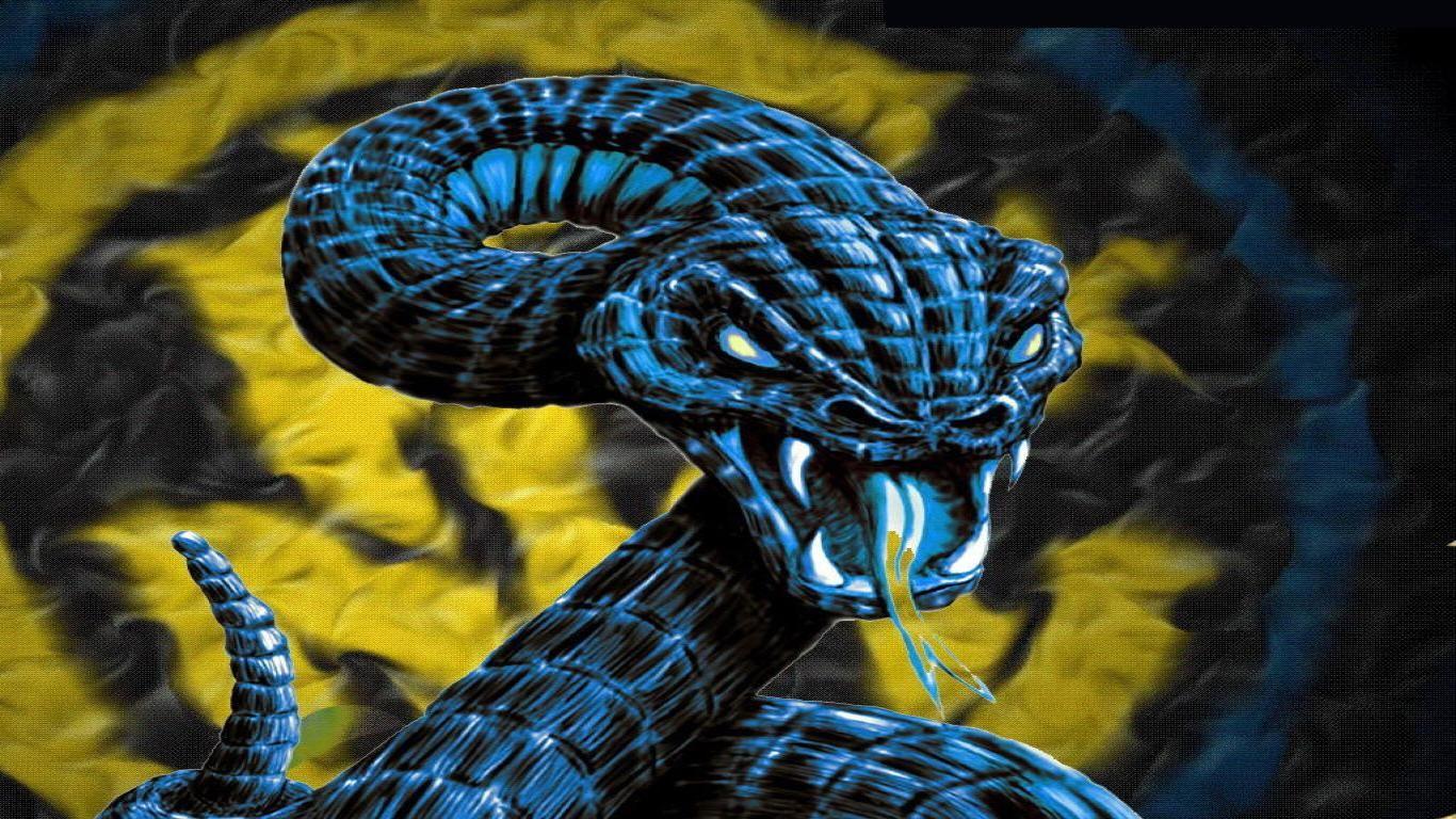 видел, картинки змей для рабочего стола на весь экран синий, голубой